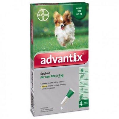 Advantix 40/200 Spot-On Dog -4kg 4st