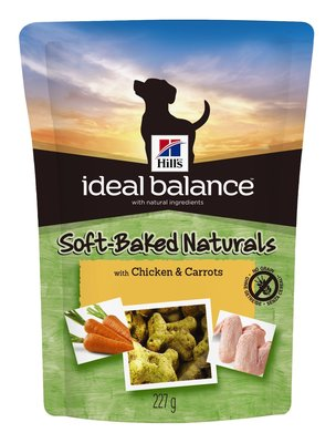 Hill's Ideal Balance Canine Snacks Chicken & Carrots 227gr