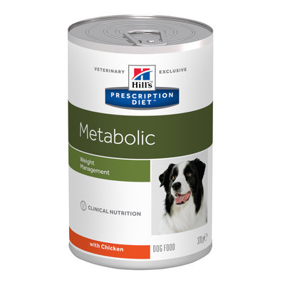 Hill's Prescription Diet Metabolic Advanced Weight Solution Canine 12x370 gr