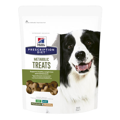 Hills Pdiet Canine Healthy Weight Treats 220gr