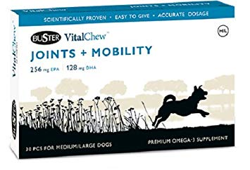 Buster Vitalchew Joint and Mobility Medium/Large 30chews