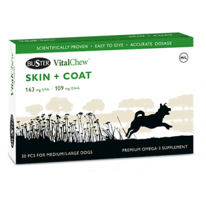 Buster Vitalchew Skin and Coat Medium/Large 30chews