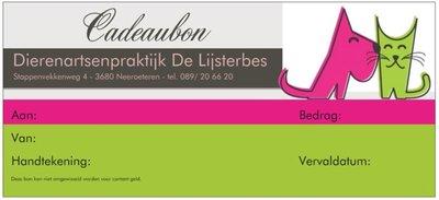 Cadeaubon - €20.00